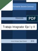 PEDAGOGIA INTEGRACION