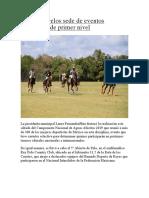 Puerto Morelos Sede de Eventos Deportivos de Primer Nivel