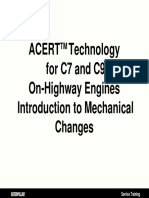 ACERT 2 TM Technology for C7 and C9 on-Highway Engines