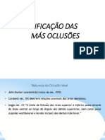 classificacao das maloclusoes