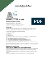 Dinámica La Torre de Papel.docx