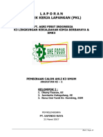 (KELOMPOK I)FIX Laporan PKL AK3 Umum   K3 Lingkungan &  Bahan  Kimia Berbahaya Beracun.docx