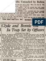 The Austin American, May 24, 1934, Hamer Comments on the Ambush