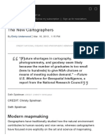 The New Cartographers _ Science