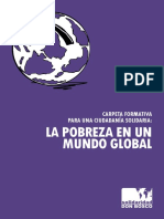 La Pobreza en El Mundo Global