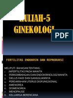KULIAH GINEK