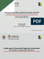 Fondo Minero Sonora y municipios, estudio alumnos Economía Unison