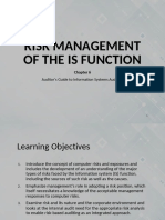 06 Risk Management of the is Function