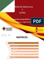 PRESENTACIÓN 6 - Arreglos (Matrices) y Listas (solucion con funciones).pptx