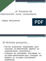 439610295.Elaboración del  Proyecto de   intervención  socio  comunitaria.ppt