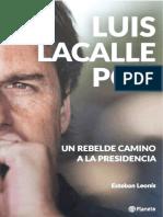 Luis Lacalle Pou. Un rebelde camino a la presidencia