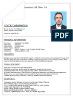 Bashrat CV
