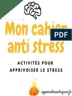 Mon Cahier Anti Stress 1