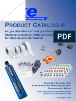Product  Catalogue Chemical indicators