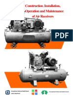 Guide to the Construction Installation Operation and Maintenance of Air Receivers