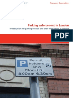 Parking enforcement in London