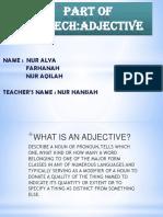 1. Adjectives