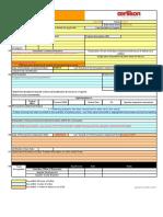 CAPA Form.xls