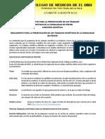 LINEAMIENTOS PRESENTACION TRABAJOS - POSTER - CMO 2019.docx
