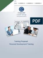 Personal Development Training in House Prospectus