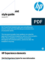HP PPT Guidelines