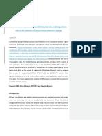 Manuscript 1 - Effect of SRT & HRT and SVI on Biomass Concentration.docx