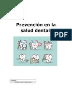 Prevención en la salud dental.docx