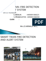 Smart Train -Fire Detection And Alert System (1).pptx