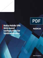 Nokia - Web Based Provision Configuration Guide for Symbian Clients