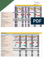 2015 Jaheziya Course Schedule