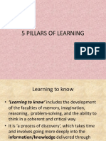 3. Let Review 5 Pillars of Learning(1)