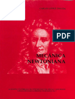 Mecánica Newtoniana - López Tascón