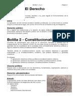 Resumen derecho constitucional y administrativo