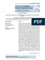 A GEO SPATIAL ANALYSIS OF FLOOD HAZARD IMPACT ASSESSMENT IN VAVUNIYA DISTRICT, SRI LANKA.