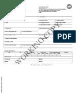 BIMCO Standard Time Sheet