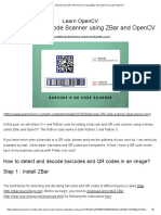 Barcode and QR Code Scanner Using ZBar and OpenCV _ Learn OpenCV