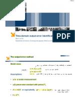 2_2 Time domain output error identification.pdf
