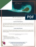 02 Joali_Recruitment Maldives April 2019