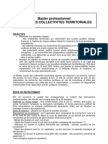 Master Juriste Collectivites Territoriales Bourgogne
