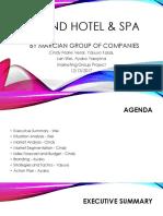 thesis on resort planning