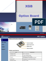 XGB Option Board