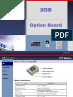 XGB Option Board