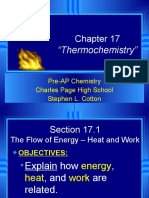 Chapter 17 Thermochemistry.ppt