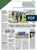 Urbino riabbraccia la sua Libia - Il Resto del Carlino del 7 aprile 2019