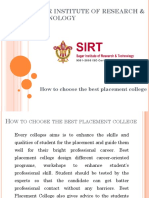 How to Choose the Best Placement College