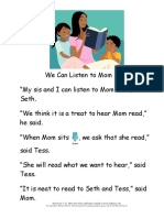 We Can Listen to Mom Read - 1st