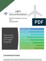 Air freight Documentation.pptx