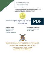 Export Prospectus of Alcoholic Benerages to Russia, Ukraine and Uzbekistan
