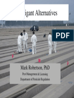 Alternatives to Fumigants as Pesticides