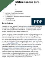Aircraft Certification for Bird Strike Risk - SKYbrary Aviation Safety.pdf